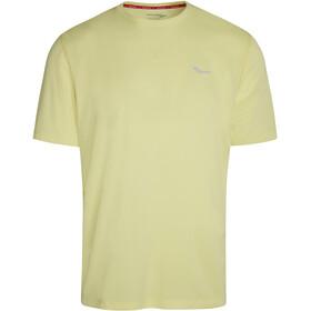 saucony Stopwatch Short Sleeve Men, amarillo